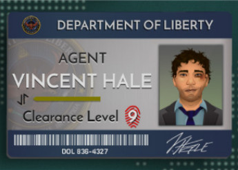 Need to Know game screenshot of Department of Liberty employee page